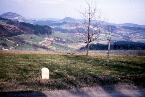 View of the Hohenstaufen from Cooke Barracks