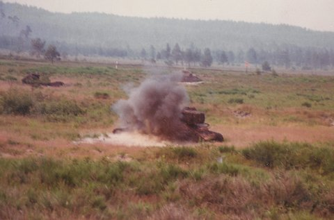 Live fire exercises up at Grafenwöhr