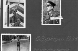 Guard at the main gate into Fliegerhorst Kaserne  1938