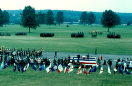 4th Armored Division on Parade
