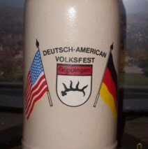 The German American Week Stein