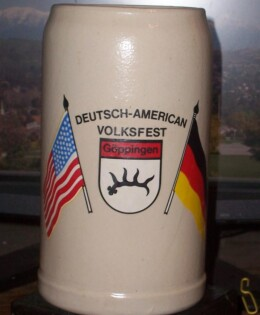 The German American Week Stein