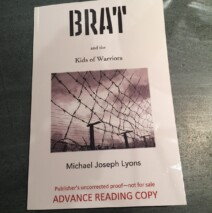 BRAT Advance Reading Copy gets delivered