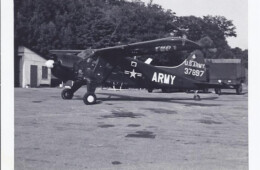 Commander 4th Armored Division's L-20