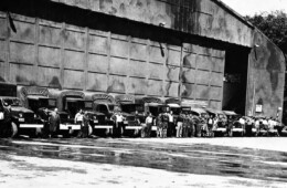 Motor Pool during WWII