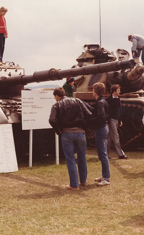 The Tanks were always a big attraction