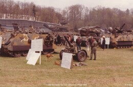 A display of American Military Hardware