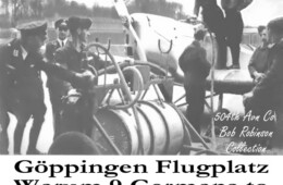Refueling a Luftwaffe Plane at the Fliegerhorst Kaserne