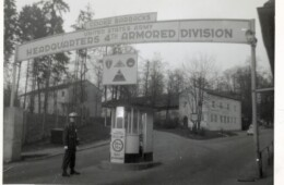 Main Gate to Cooke Barracks