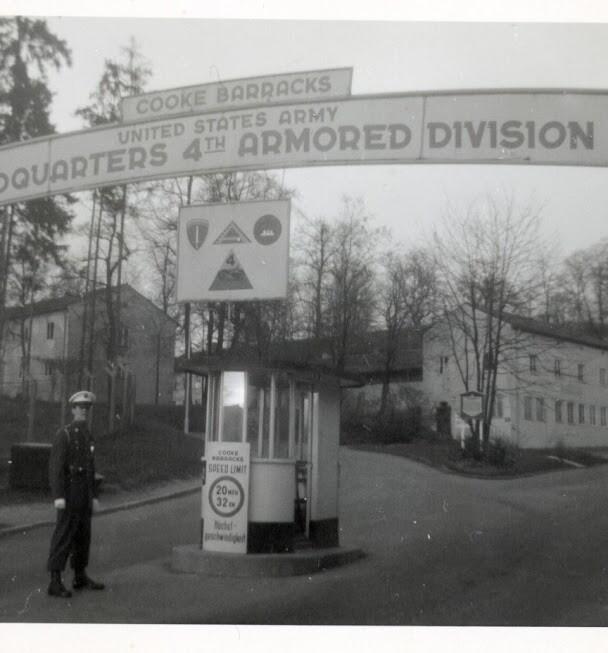Main Gate to Cooke Barracks